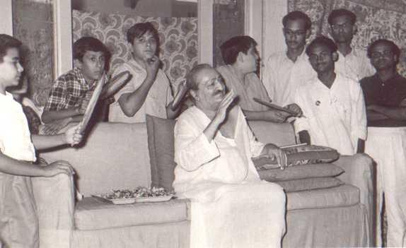 Meher Baba in Guruprasad