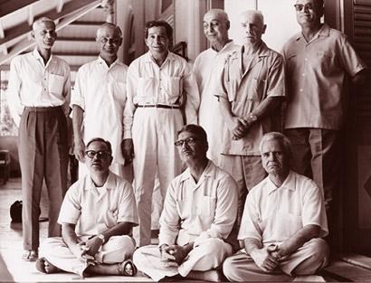 Pankhraj with Meher Babas Mandali