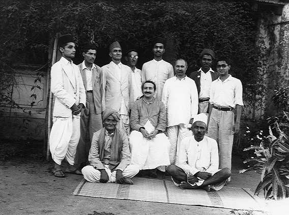 Kalemama and Murli Kale - Disciple and Mandli of Meher Baba