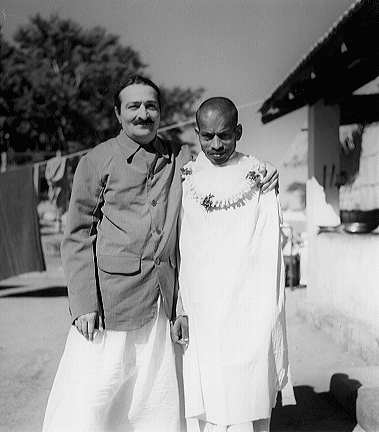 Mohammed Mast with Meher Baba